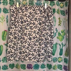 1X Le Lis Maura Zip Pocket Detail Skirt